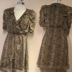 Costa Blanca Leopard print Dress,